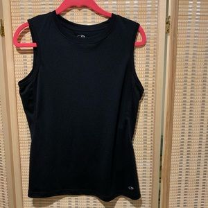 Black Champion workout tank size S